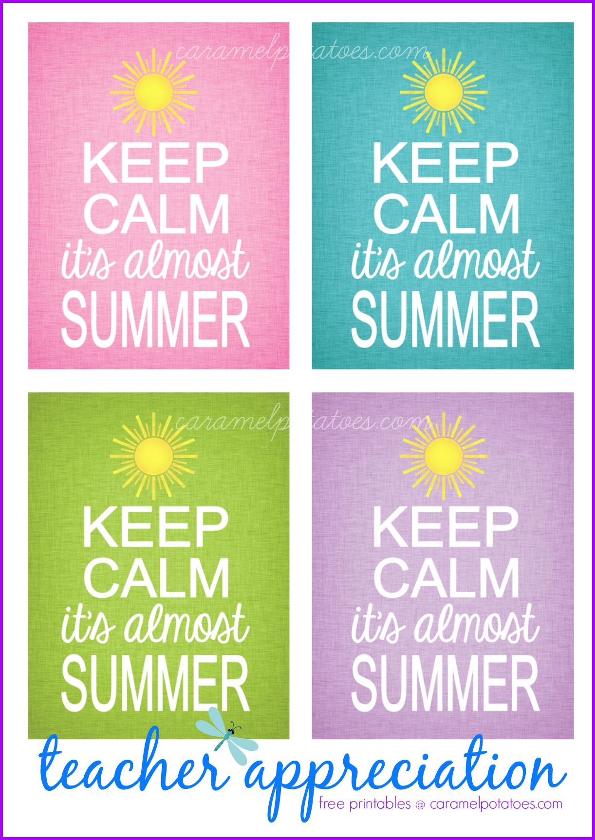 Keep Calm And Love Caramel