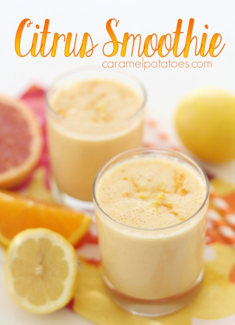 Citrus Smoothie - add some freshness to your day!
