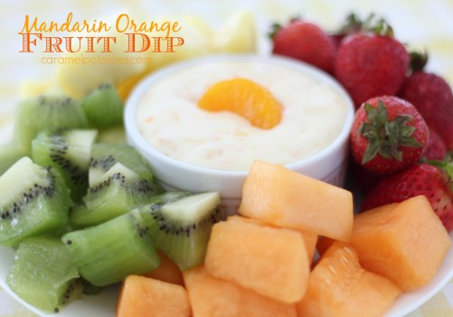 Mandarin Orange Fruit Dip