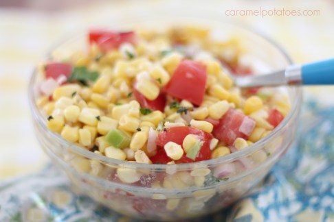 Sweet Corn and Tomato Salad 082