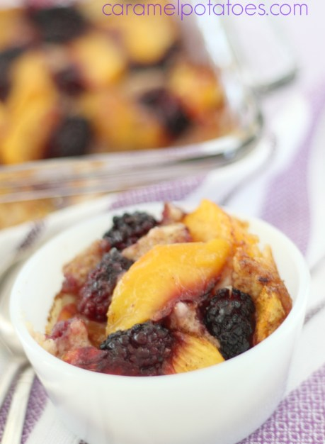 Blackberry-Peach Buttermilk Cobbler 133