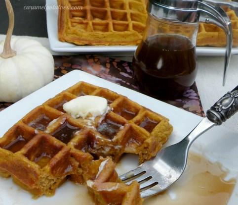 Pumpkin Waffles023