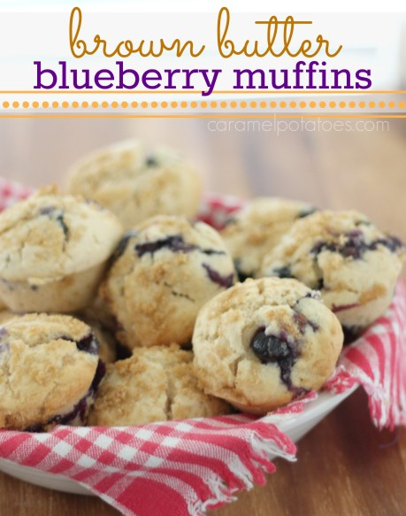 Brown Butter Blueberry Muffins 080