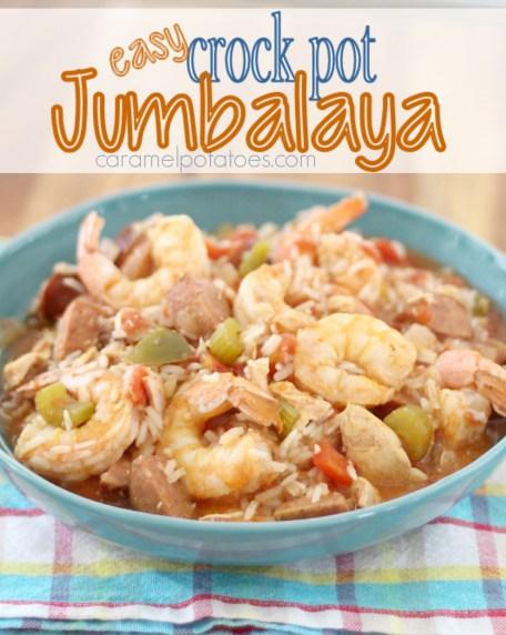 Easy Crock Pot Jumbalaya