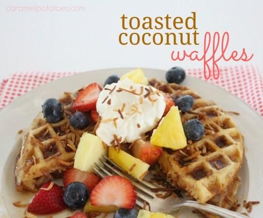 coconut waffles 107