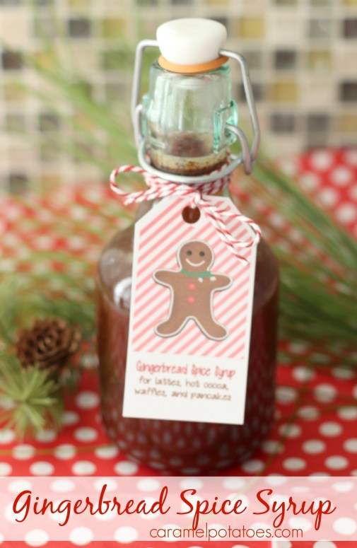 gingerbread syrup 160