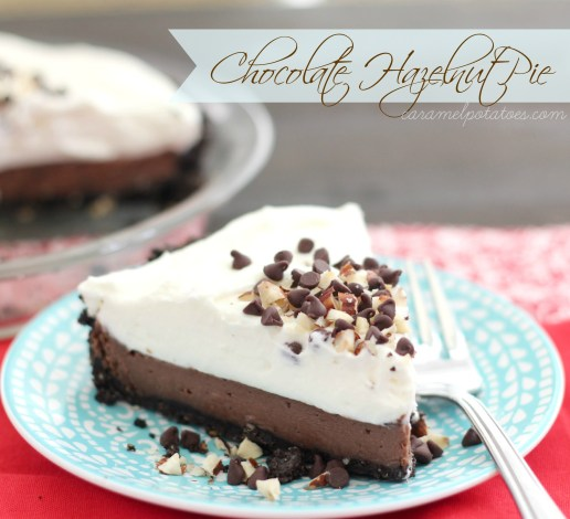 Chocolate Hazelnut Pie x