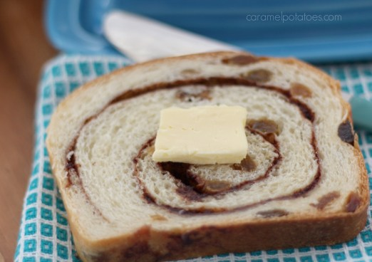 Cinnamon Swirl Raisin Bread 159