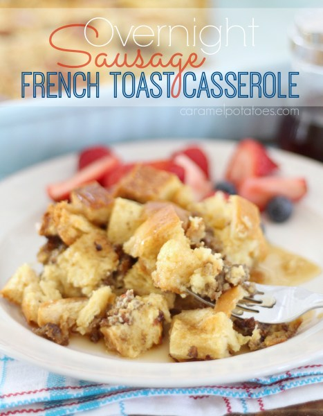 sausage french toast casserole 065