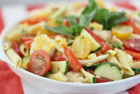 farmers market chicken pasta salad 043