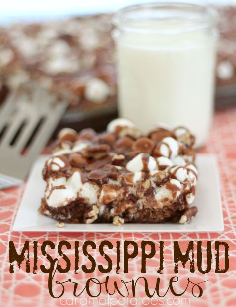 Mississippi Mud Brownies 084