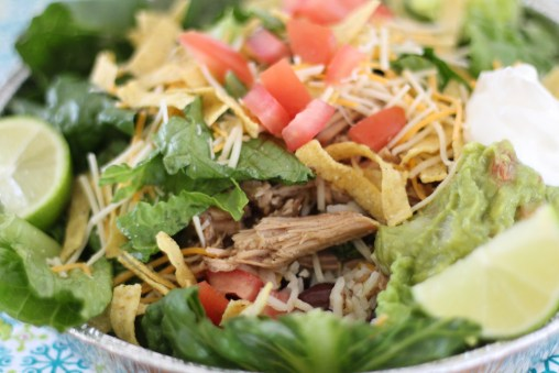 Cafe Rio Sweet Pork Salad 101