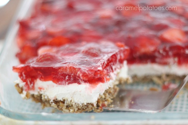 Strawberry Pretzel Salad 007