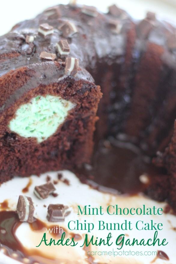 Mint Chocolate Bundt 072