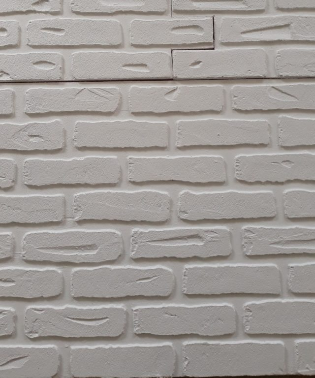 Placi imitatie caramida ANTIC WHITE 2