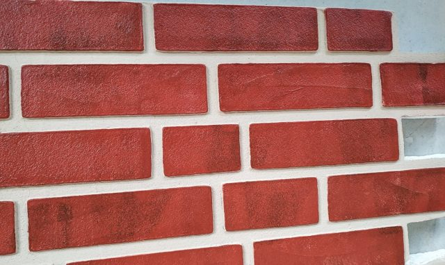 Panouri caramida aparenta de exterior TECHSTONE RED LUX - 100 x 50 x 5 cm - 6