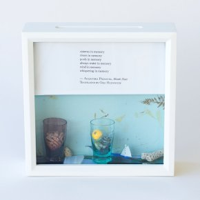 Tiny Writes Pizarnik Poetry Shadow Box