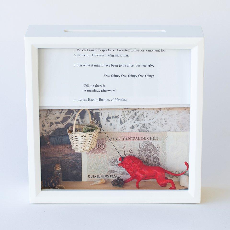 Tiny Writes Brock-Broido Poetry Shadowbox