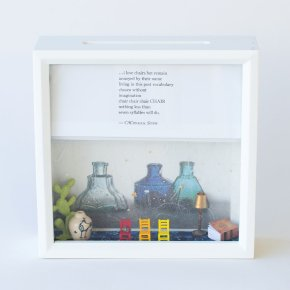 Tiny Writes CA Conrad Poetry Shadowbox