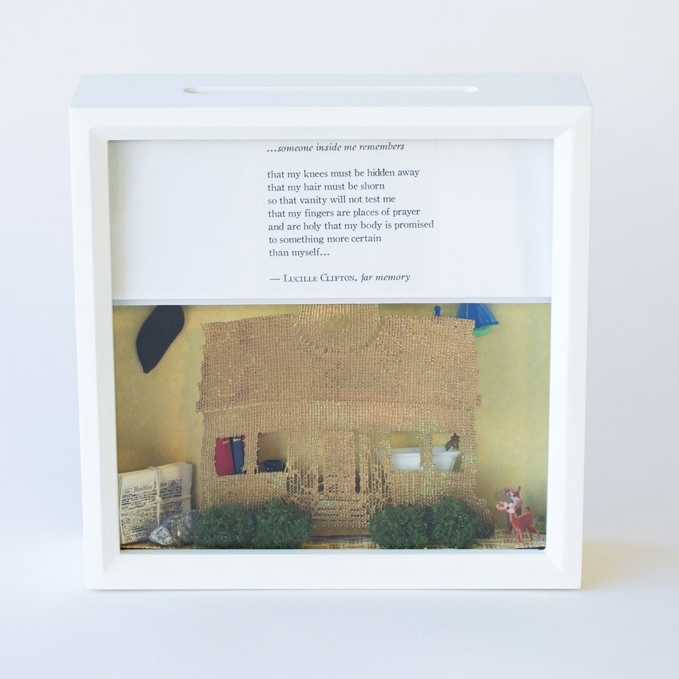 Tiny Writes Lucille Clifton Poetry Shadowbox