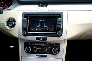Carandgas- Passat CC -Radio y climatización