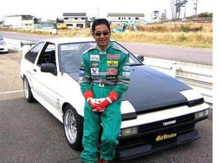 Keiichi Tsuchiya el Rey del Drift…