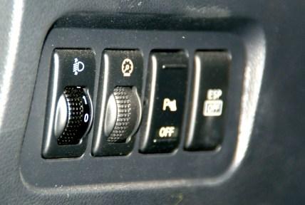 Koleos botonera