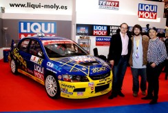 Liqui Moly y Angel Domenech - CAR and GAS - Motortec -Magia motor