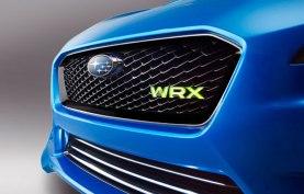 Subaru WRX frente