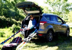 Javi Vega Ford Kuga trasera maletero