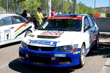 Angel Domench RallySprint Arganda CAR and GAS