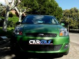 ford fiesta - car and gas - frontal