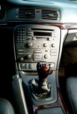 Volvo S80 Consola central