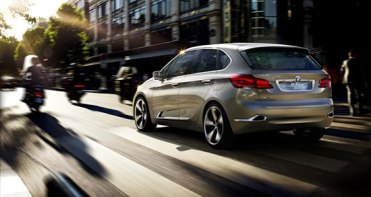 BMW Active Tourer Concept Car 01