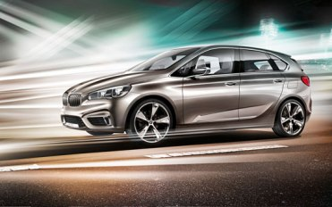 BMW Active Tourer Concept Car 11