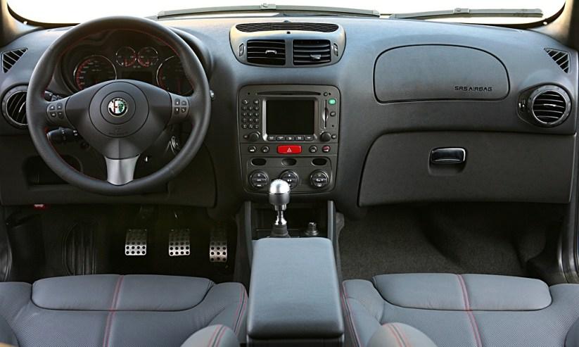 Interior Alfa 147 GTA