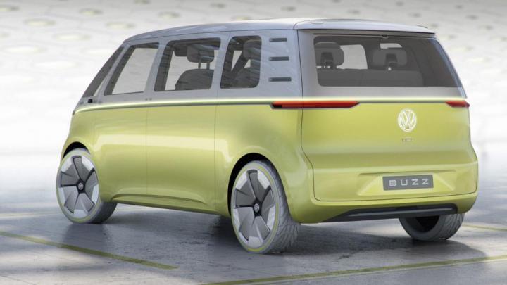 I.D. BUZZ  de Volkswagen 600 kms de autonomia.