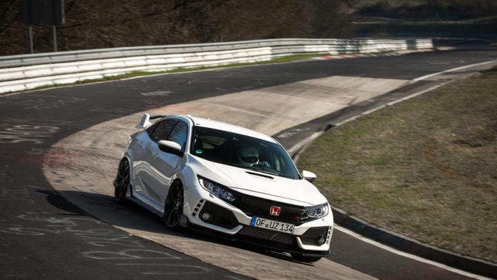 Nuevo Honda Civic Type R: New Record Nürburgring