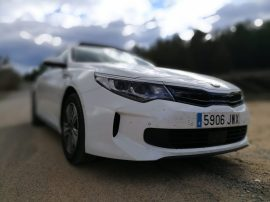 Frontal Kia Optima PHEV