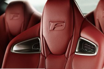 Asientos Lexus RC F