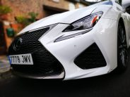 Toma de aire frontal Lexus RC F