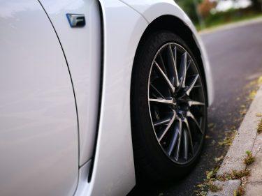 Toma de aire Lexus RC F