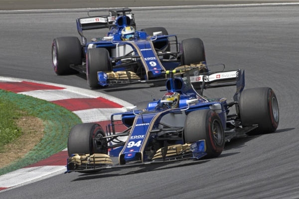 94 WEHRLEIN Pascal (ger) Sauber F1 C36, action during the 2017 Formula One World Championship, Grand Prix of Austria from July 7 to 9 , in Spielberg, Austria - Photo DPPI