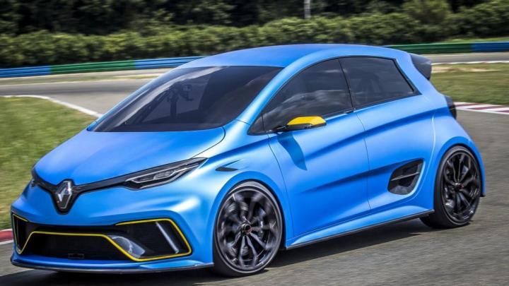 Vídeo Renault ZOE e-Sport  Concept – Cohete eléctrico con  460CV