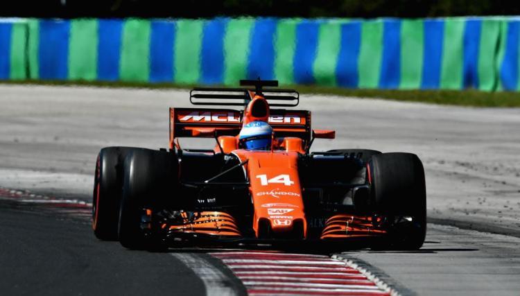 Fernando Alonso gp hungria 2017