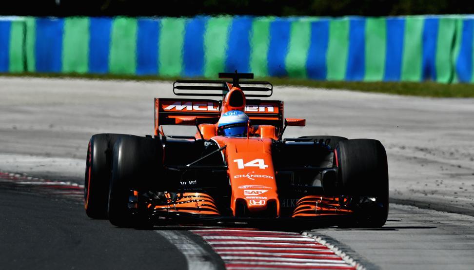 Vuelta rápida GP Hungría 2017 F1- Fernando Alonso McLaren Honda