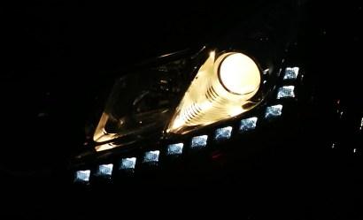 Vista nocturna ópticas led