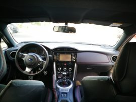 Interior BRZ