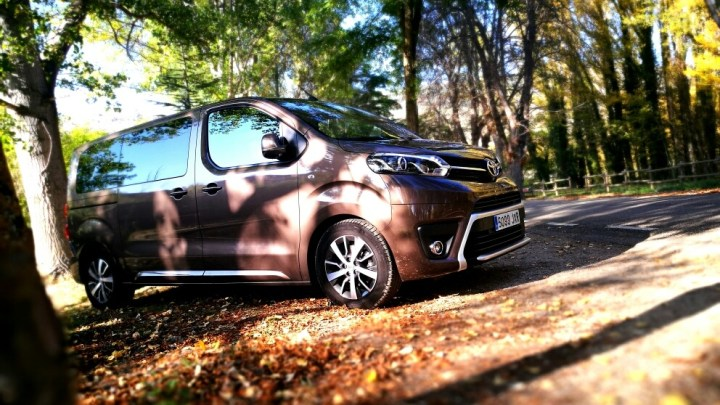 Prueba Toyota Proace Verso Family
