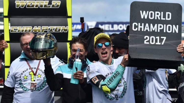 Joan Mir Moto3 World Champion